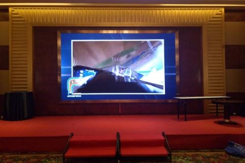 PH4 棕榈泉酒店LED显示屏