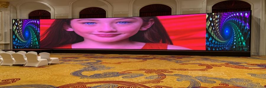 顺义新华联丽景温泉酒店LED显示屏顺利竣工