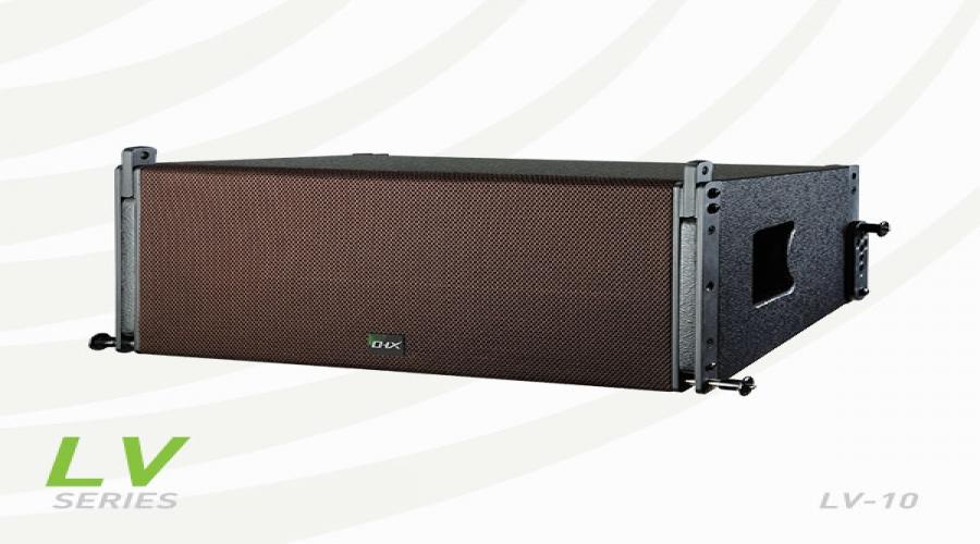 LV-10线阵(单10寸 内置分频 双高音 全钕磁)